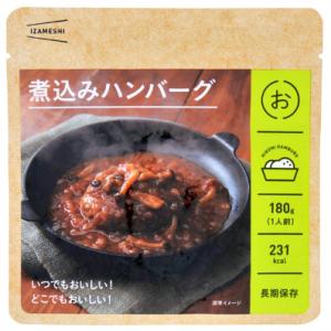 イザメシ 煮込みハンバーグ