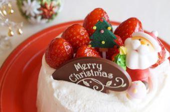 クリスマスケーキ2019子供に人気のキャラクターがかわいい!オススメは?